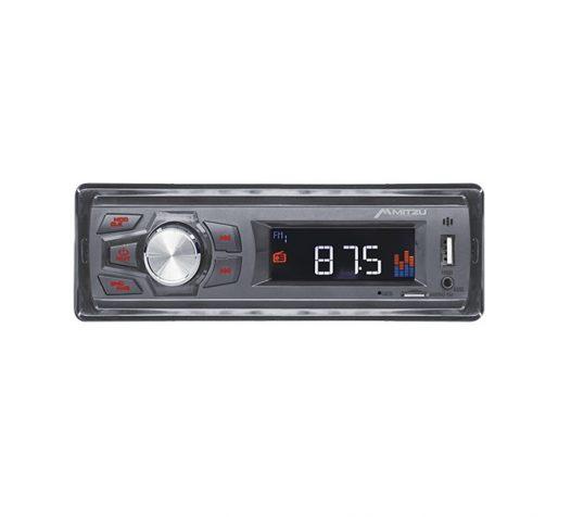 Radio para carro Mitzu FM/USB/SD