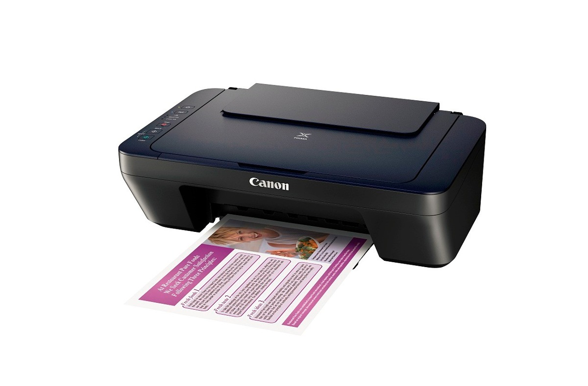 Impresora Multifuncional De Cartuchos Canon Pixma E402 K 233 Mik