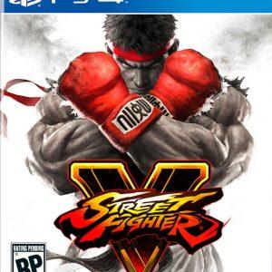 Videojuego Street fighter V PS4