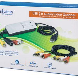 Capturadora de Audio y Video Manhattan USB 2.0