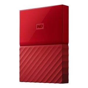 Disco duro externo WD My Passport rojo 1tb
