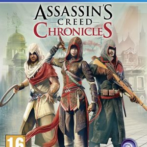 Videojuego Assassins creed chronicles PS4