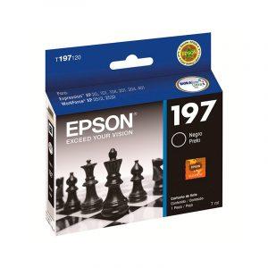 Cartucho de tinta Epson T197 Negro