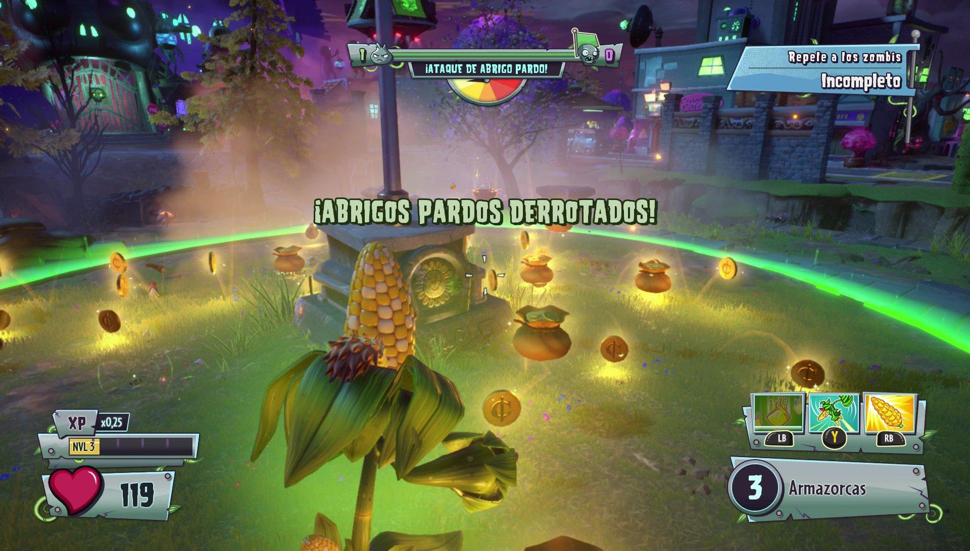 Juego Plant Vs Zombies Garden Warfare 2 Online Ps4 Caja Abierta