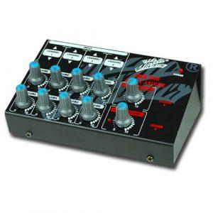 Mini Mixer Zebra P/ 8 Microfonos