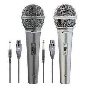 Set de micrófonos Mitzu doble