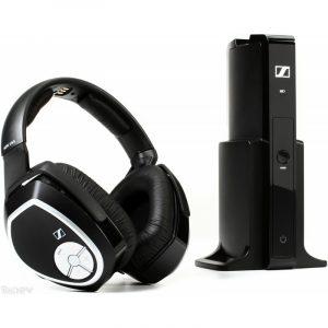 Audífonos Sennheiser inalámbricos over ear para tv's con control en orejera RS 165