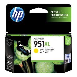 Cartucho HP 951XL Amarillo Alto rendimiento