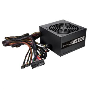 Fuente De Poder Corsair 500Watts 80 Plus White Cp-9020118-LA