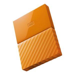 Disco Duro Externo Western Digital My Passport 1TB Color Naranja
