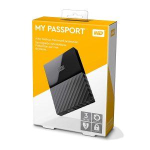 "Disco Duro Externo Western Digital My Passport 3TB 2.5"" Color Negro"