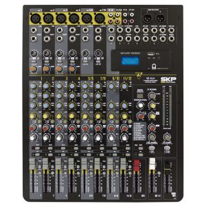 Consola SKP 12 canales, MP3/USB