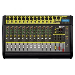 Consola SKP 12 Canales C/ BT/MP3/USB/SD