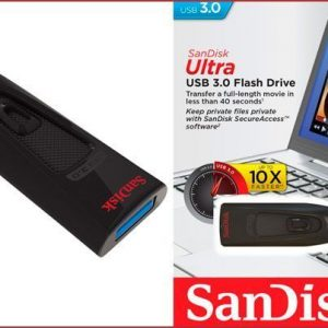 Memoria USB SanDisk Ultra 64GB Color Negro