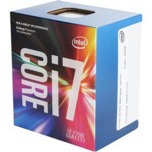Procesador Intel Core i7 7700 3.6Ghz 4 núcleos