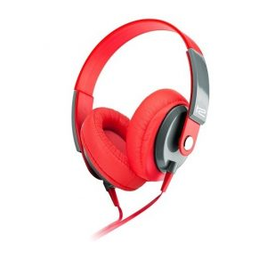 Audífono Klip Xtreme KHS-550 plug 3.5mm rojo