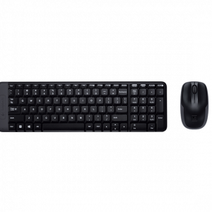Combo inalambrico Logitech teclado español MK220 y mouse M150
