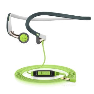 Audífonos Sennheiser deportivos Neckband Color Verde PMX 686i sport