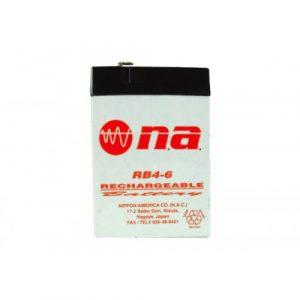 Bateria para UPS N.A. 4 AMP. 6V.