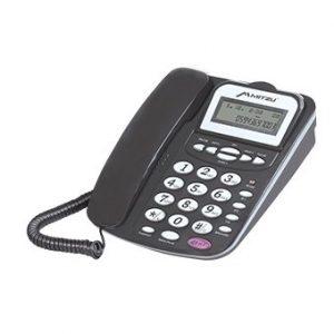 Teléfono Mitzu 16 tonos 50 memorias Negro
