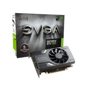 TARJETA DE VIDEO EVGA GTX 1060 GAMING 3GB DDR5