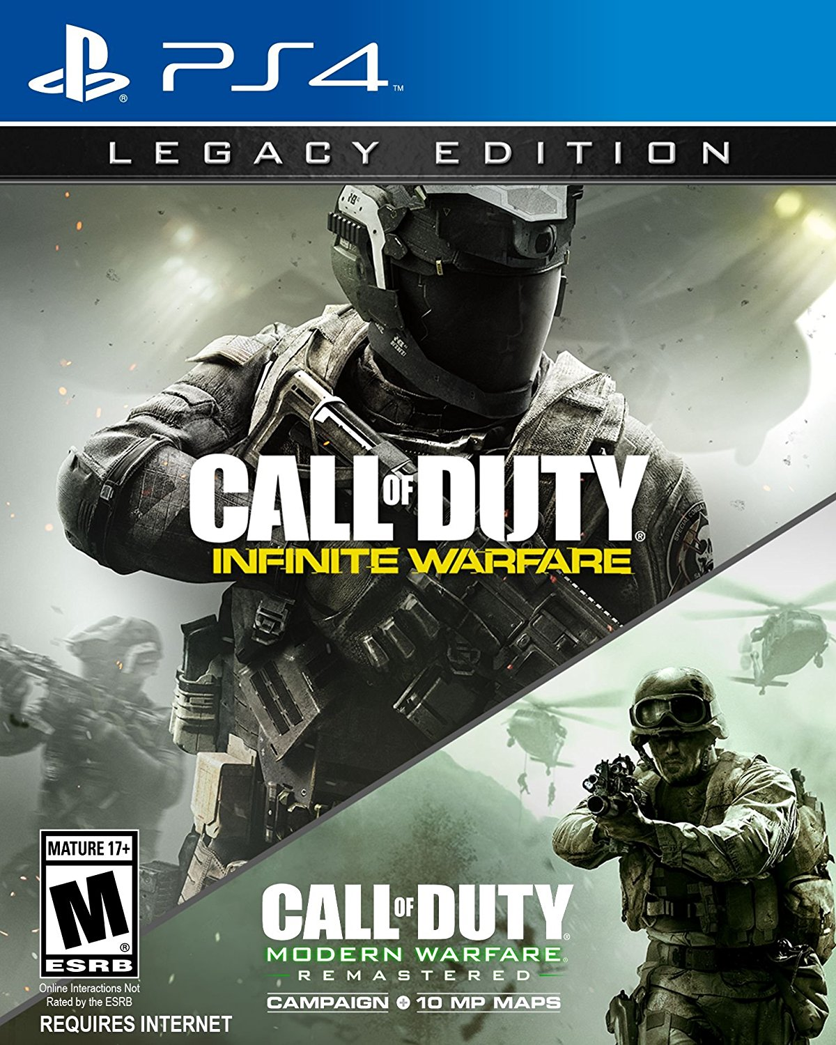 Videojuego Call Of Duty Infinite Warfare Legacy Edition 2 Juegos