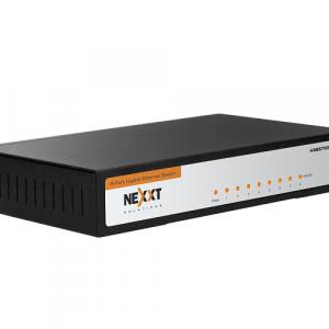 Switch Nexxt Solutions gigabit ethernet 8 puertos