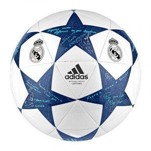 Pelota original Adidas final Champions League16 logotipo Real Madrid