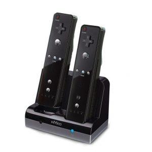 Control cargador doble +2 baterias Nyko WII-WIIU