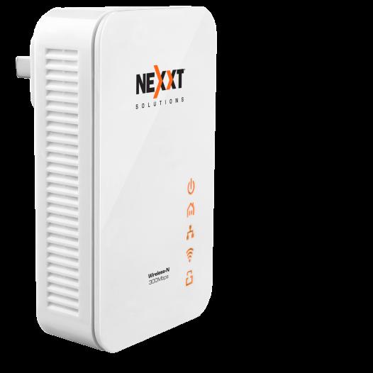 Adaptador inalámbrico de red por línea eléctrica Nexxt