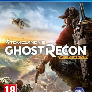 Videojuego Ghost Recon Wildlands Tom Clancy Ps4