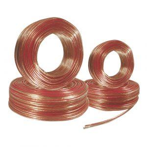 Cable Mitzu p/ bocina cal. 16 claro 100 metros