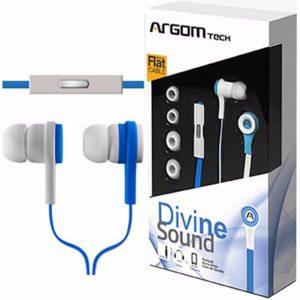 Audífonos Argom 595 arg-hs-0595l Color Azul