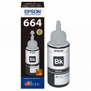 Botella de Tinta Epson 664 Negro (Refill)