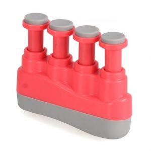 Ejercitador para dedos Wingo music, rojo