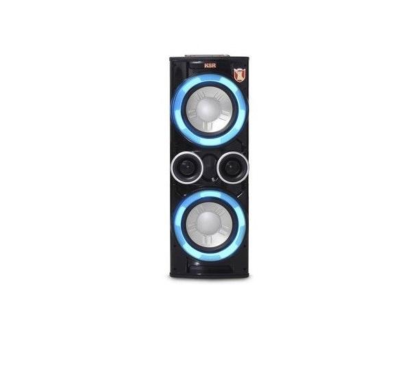 Sistema De Audio Doble Kaiser 2x12 C Fm Bt Usb Sd Led