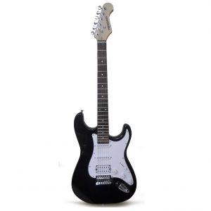 Guitarra eléctrica Hendrix tipo tc con estuche negra