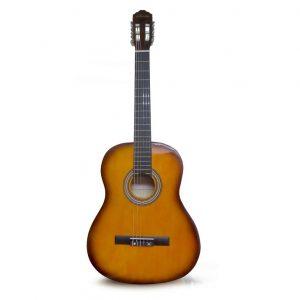 Guitarra clásica Valenciana 39'' yamaha-negro con estuche