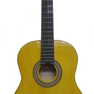 Guitarra Clasica Valenciana 39'' Color Amarillo con Estuche