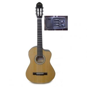 Requinto Valenciana color natural con estuche