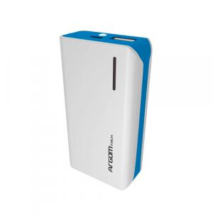 Powerbank Argom 5000 mAh ARG-AC-0235L Color Blanco/Azul