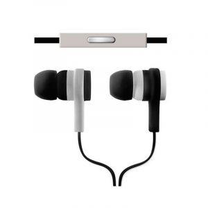 Audífonos Argom Black 595 ARG-HS-0595B Color Blanco y Negro
