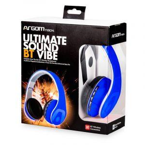Audífonos Argom ultimate sound vibe azules