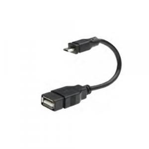 Cable N.A. Otg P/ transmisión de datos micro USB macho a USB, hembra