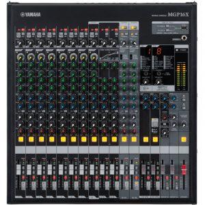 Consola análoga Yamaha 16 entradas de linea