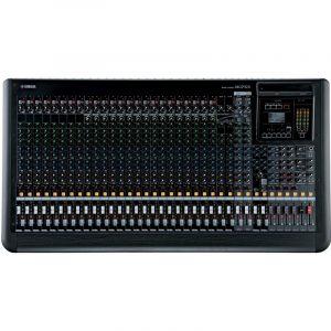 Consola profesional analoga de 32 canales con efectos YAMAHA MGP32X color negro con gris