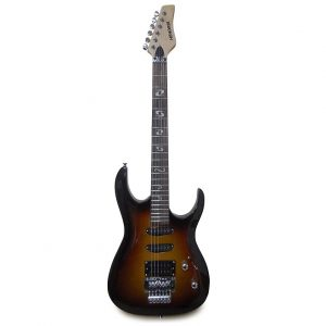 Guitarra eléctrica Hendrix tipo sc con estuche