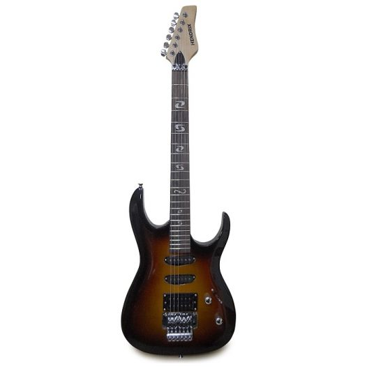 Guitarra Eléctrica marca Hendrix tipo SC con Estuche