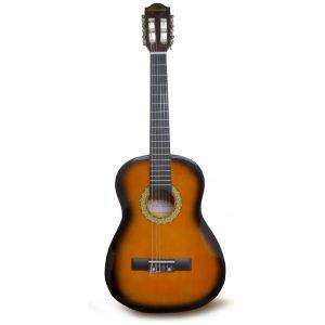 "Guitarra Valenciana para niño 30"" sunburst con estuche"