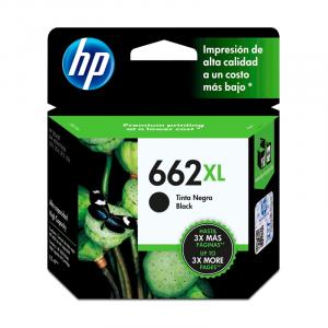 Cartucho HP 662XL Negro